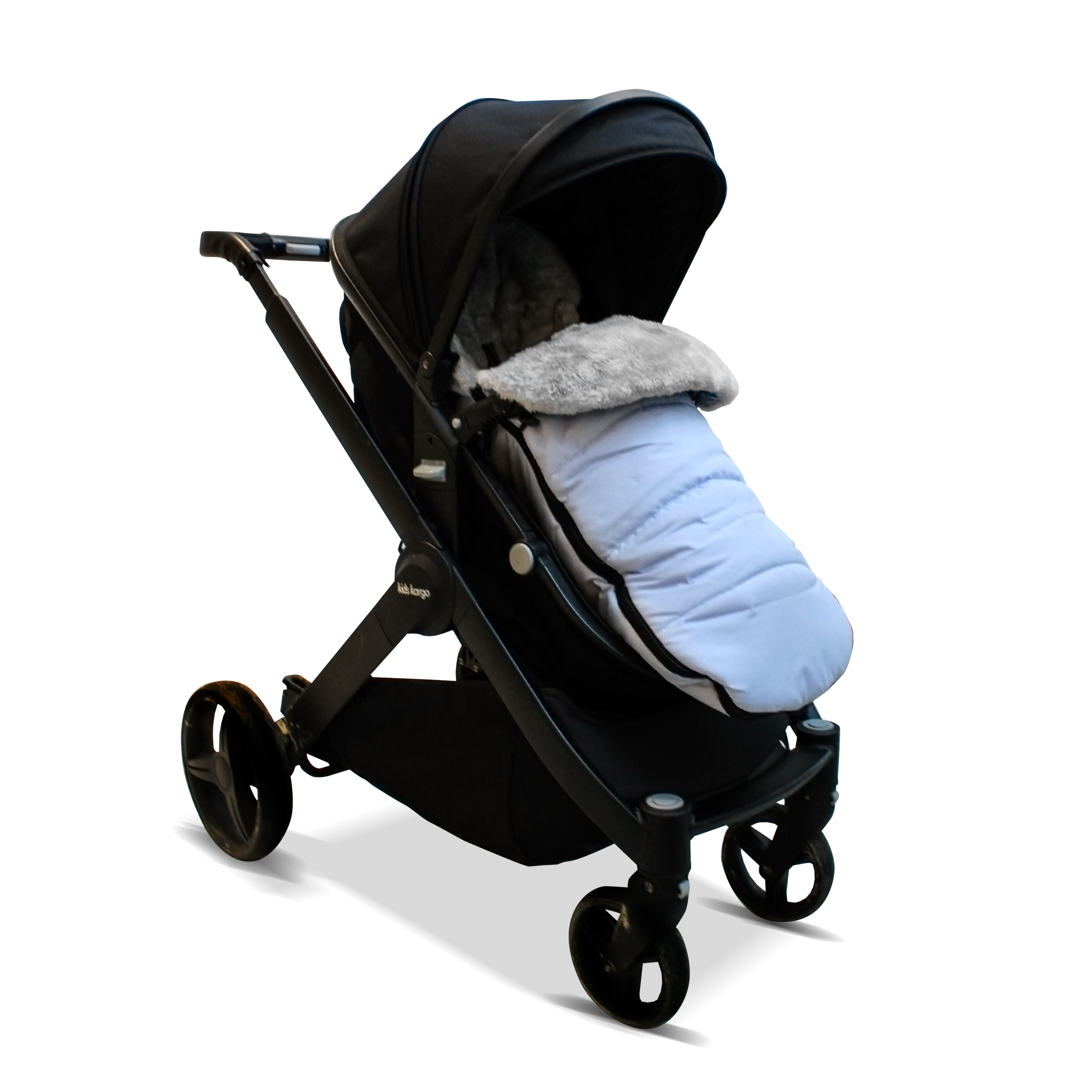 Footmuff//Cosy Toes Compatible with Kids Kargo Duel Light Blue